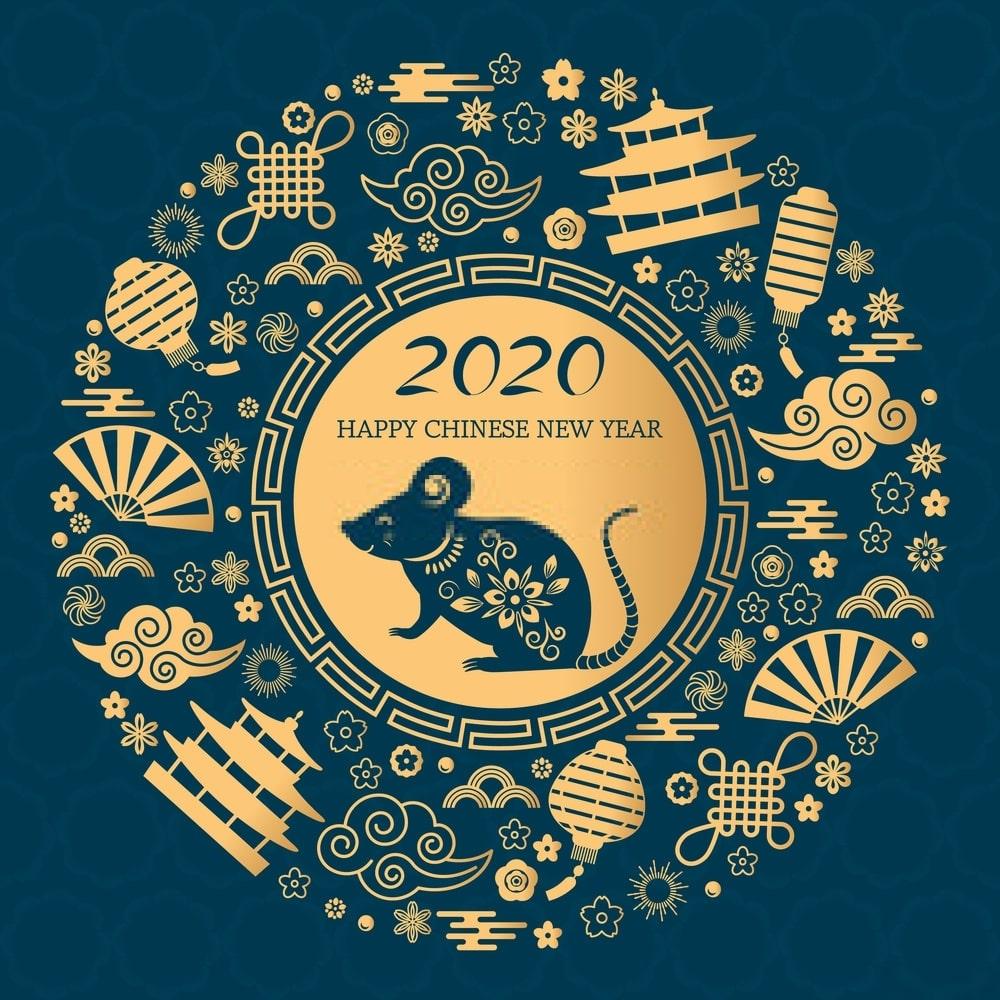 【2020年鼠年新年祝賀語、新年快樂圖、免費LINE貼圖、影音賀卡 超級懶人包】